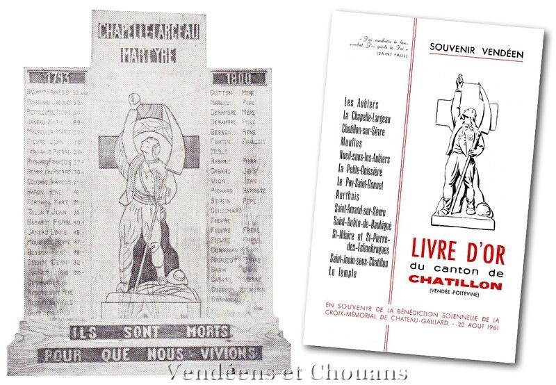 Martyrologe de La Chapelle-Largeau