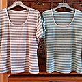 Les 4 tee shirts de soeurette