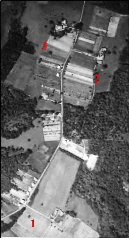 Vue aérienne de Puyroger et Bonneau