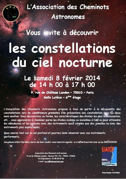 Affiche constellations