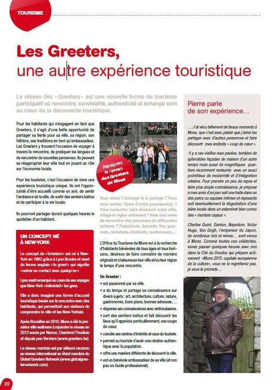 Article Greeters Mons Mag 2014