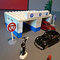 Lego, le set 306, le garage volkswagen... un coffret des années 50 !
