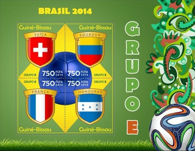Brésil 2014 BF Guiné-Passau Groupe E