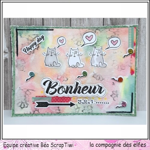 Carte Bonus Cie des Elfes - Thème Bonheur