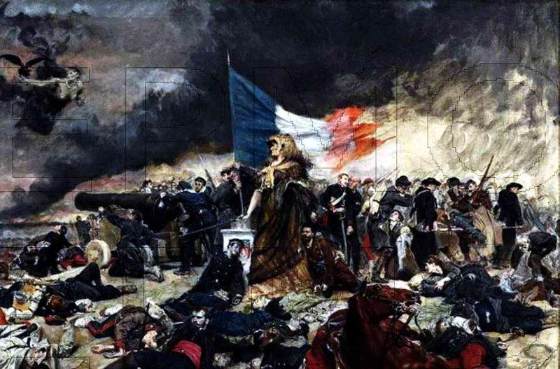 guerre 70 Ernest Meissonier Le Siège de Paris vers 1884