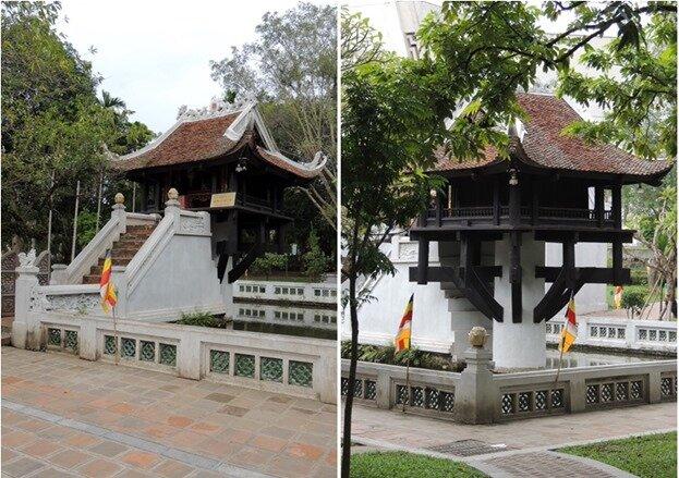 8-pagode du Pilier Unique