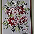 Carte bouquet blooms