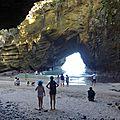 Voyage au japon - jour #14 - une grotte-coeur et de la luge