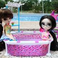 Pullip pool party!!!