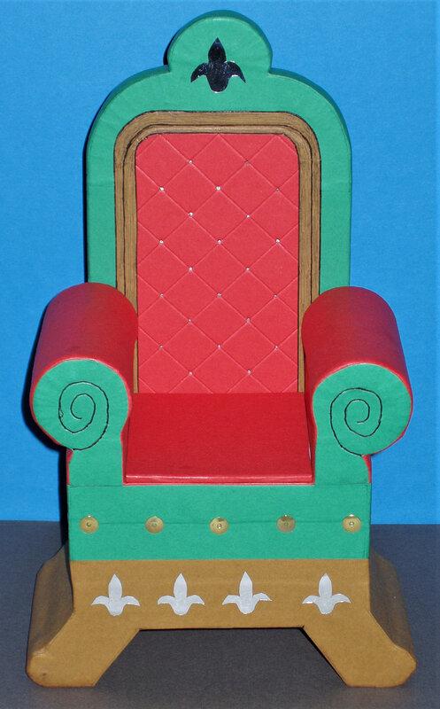 trône du Père Noël (1)