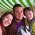 Une cousine, un parrain et un filleul (Llançà - Espagne, mai 2013)