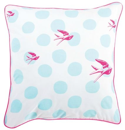 TO birds 65 x 65 pink