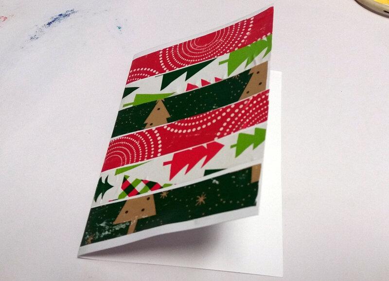347-Noël et nouvel an-Cartes papiers cadeaux (23)