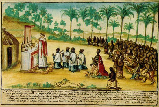 CONVERSION DES BANA BA KONGO AU CHRISTIANISME EUROPEEN COLONIAL