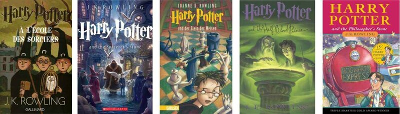 Harry Potter de JK ROWLING