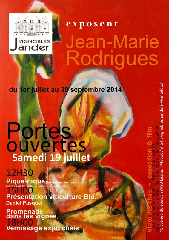 FLYER VERNISSAGE SEUL JANDER 2014