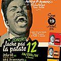 13 ème foire aux disques + 12 ème concert lache pas la patate
