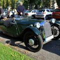 Morgan type F super three wheeler roadster (1936-1952)(Retrorencard octobre 2010) 01