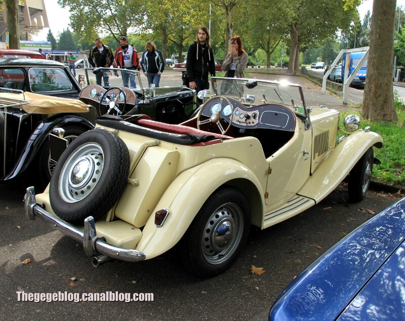 Mg TD roadster (Retrorencard septembre 2013) 02