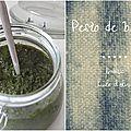 Pesto de basilic