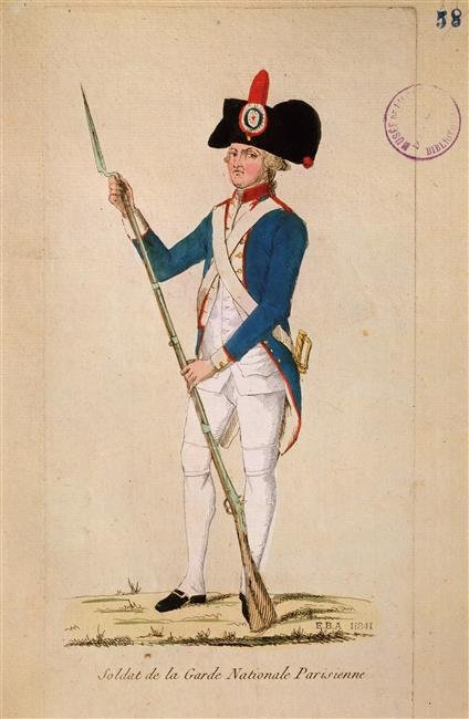 Le 19 avril 1790 à Mamers : renouvellement des officiers de la garde nationale.