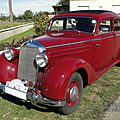 Mercedes benz 170 s berline 1949-1952