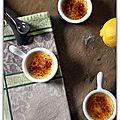 Crème brûlée aux agrumes