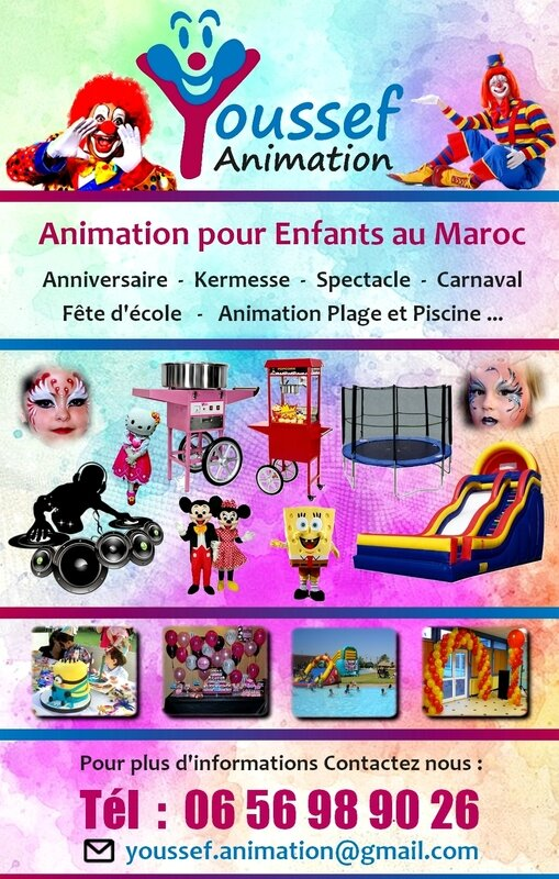 Affiche YOUSSEF ANIMATION 01