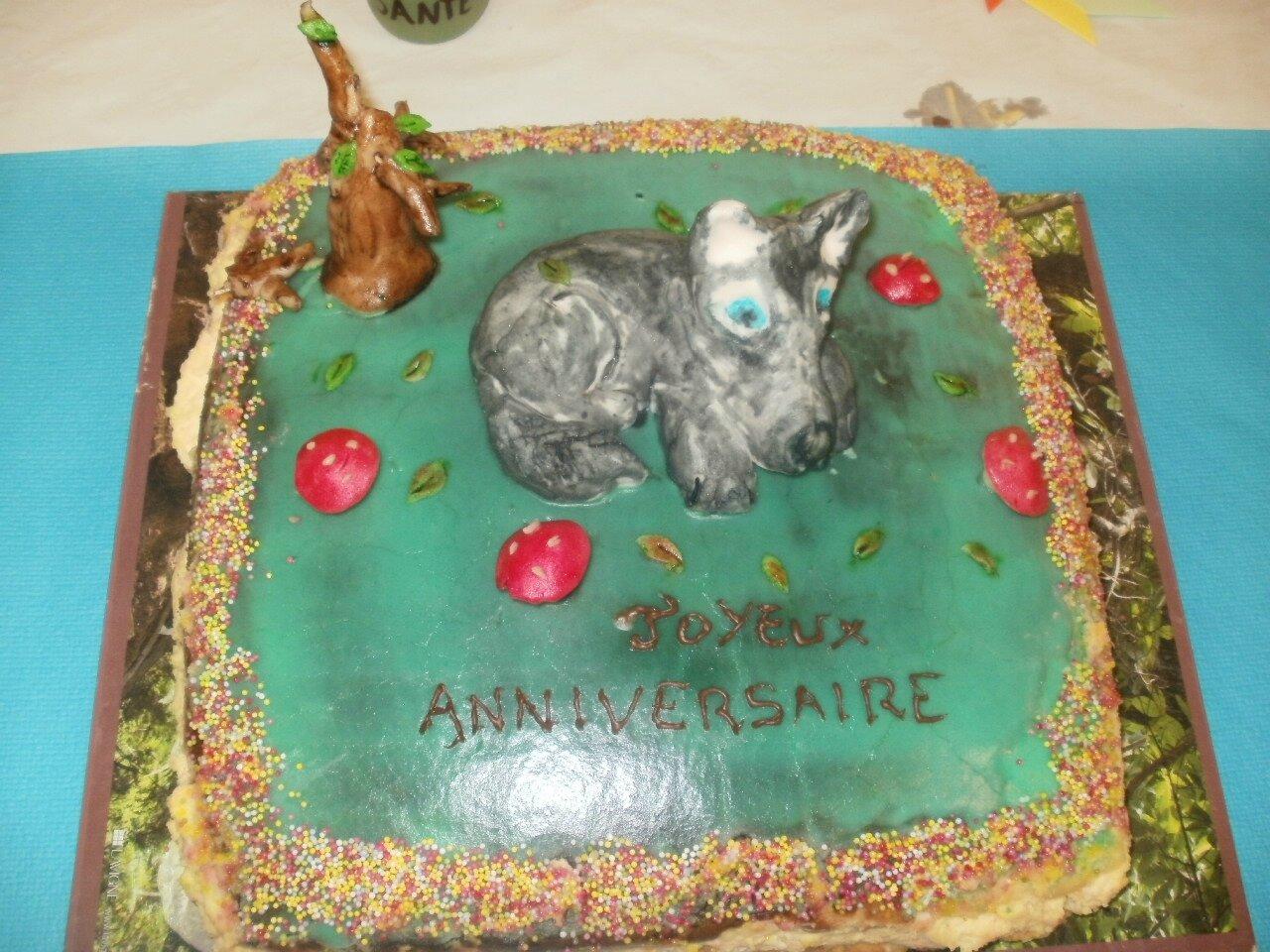 Gâteaux préparés pour les 18 ans de mon aîné La
