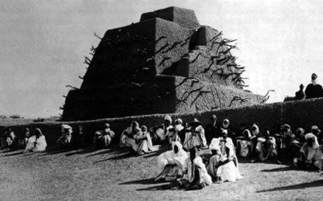 the Mausoleum of Askia at Gao Mali