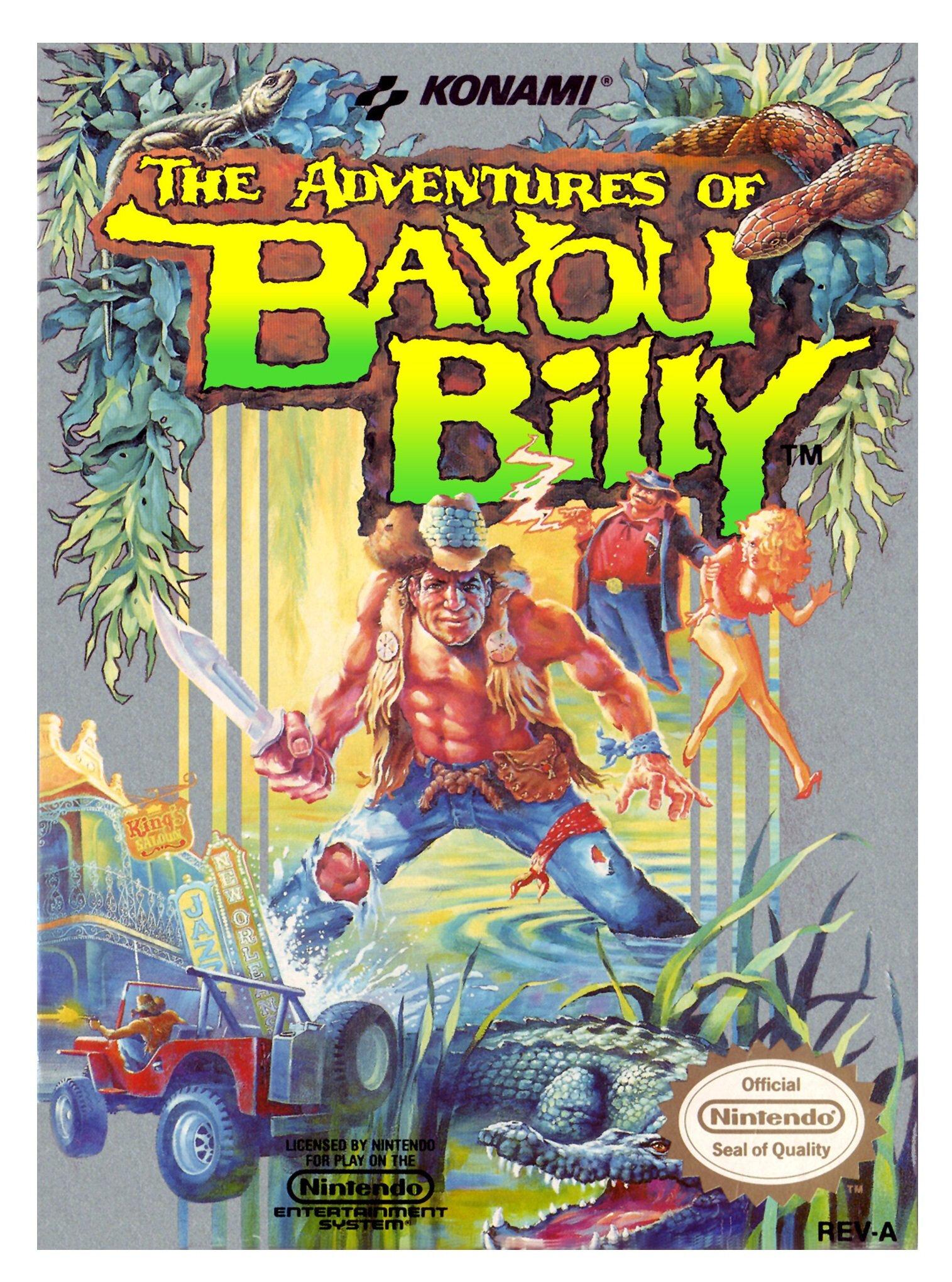 The Adventures of Bayou Billy sur la Nintendo NES
