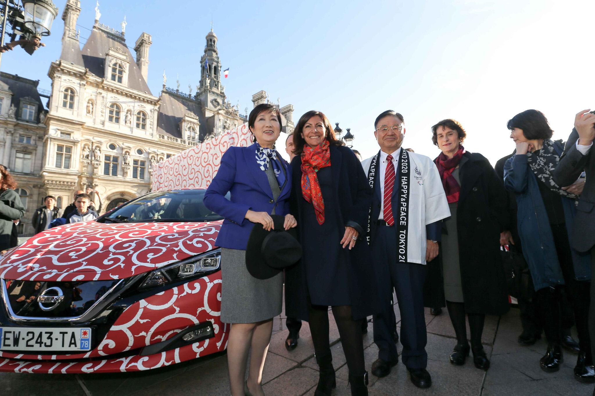 La Gouverneure Yuriko Koike en visite à Paris. © Michel Stoupak. Ven 02.11.2018, 14h53m31.