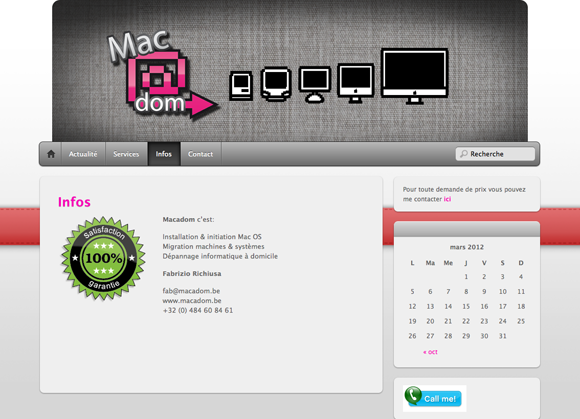 macadom website