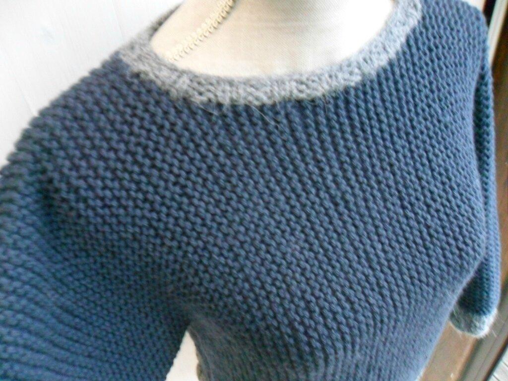 Tricot facile point mousse - Laine et tricot 28534a7eadf