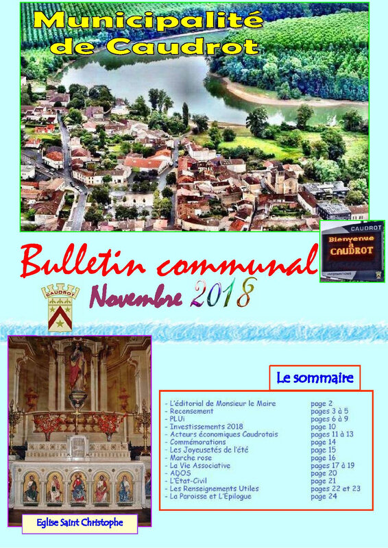 Bulletin communal NOVEMBRE 2018 GOOD-R COUVERTURE-page-001