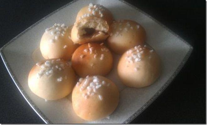 Sorawel avec les briochets au elben fourées au nutella