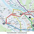 Grenoble : contrat voté pour le téléphérique métrocâble à 65 millions d'euros sur 3,7 km avec 5.000 voyageurs/jour
