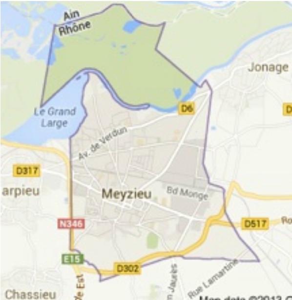 Meyzieu : Commune Grand-Lyonnaise de la Rive-Gauche du Rhône