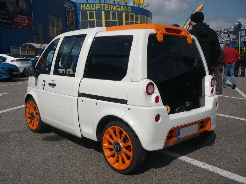 MIA ELECTRIC Mia miAmore véhicule électrique Sinsheim (2)