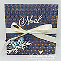 Album de noël en accordéon - tutoriel