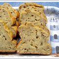 Cake épicé au thon et fromage blanc