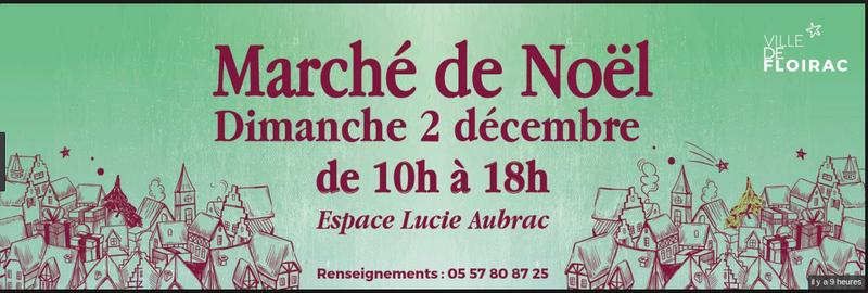 Capture affiche MARCHE NOEL FLOIRAC