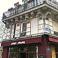 Petite balade parisienne: montmartre, la place saint georges, la tour eiffel...