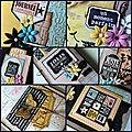 Mini album jolis souvenirs : aperçu et dates d'atelier