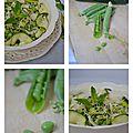 Salade petits-pois courgettes à la menthe1