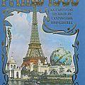 Livre : paris 1900, la fabuleuse histoire de l'exposition universelle