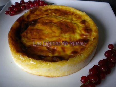 Flan pâtissier sans pâte à la fève tonka 4