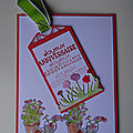 Carte plantes en pot et tag