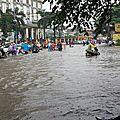 Hanoi sous la pluie, hier