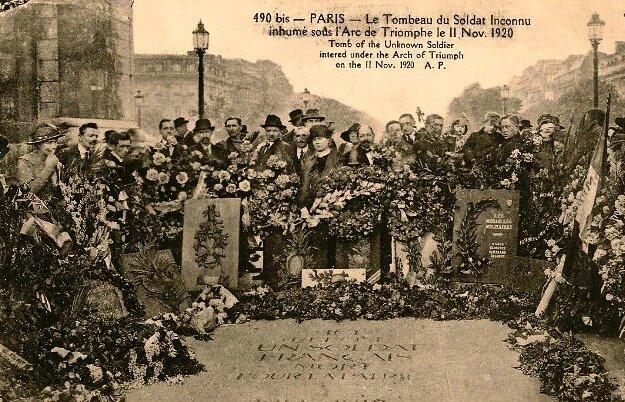 Paris (1) soldat inconnu